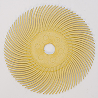 "RADIAL DISC 3"", 80g (YELLOW)- PK/5