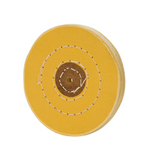 Chemkote Yellow Buff, 3 Inches, 30 Ply||BUF-663.30