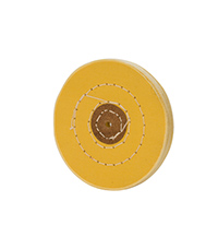 Chemkote Yellow Buff, 4 Inches, 50 Ply||BUF-664.50