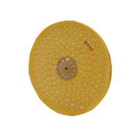 YELLOW RAZOR EDGE BUFF- 5 X 12 PLY||BUF-665.12