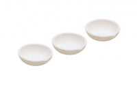 "CERAMIC MELTING DISH - 3""  PK/3