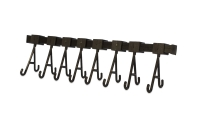 Cleaning Rack with Movable Hooks, 8 Hooks, 11-3/4 Inches||CLN-609.08