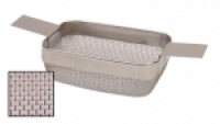 Rectangular Cleaning Basket, Fine Mesh, 4 by 3 by 1-1/2 Inches||CLN-651.10