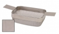 Rectangular Cleaning Basket, Extra Fine Mesh, 4 by 3 by 1-1/2 Inches||CLN-651.20