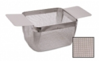 Rectangular Cleaning Basket, Extra Fine Mesh, 5 by 4 by 3 Inches||CLN-652.20