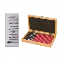 Wax Carver Set, 10 Piece Set, 5-3/4 Inch||CVR-220.00