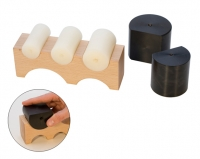 Large Wood Shaping Block with 5 Nylon Shapers, 7 by 1-7/8 by 2-3/8 Inches||DAP-145.00