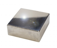 Polished Bench Block, 2-1/2 by 2-1/2 by 3/4 Inches||DAP-525.50