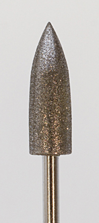 DIAMOND BUR - 6MM BULLET - MEDIUM||DIB-145.06