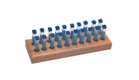 Assortment of High-Speed Twist Drills, 200 Pieces with Wood Stand||DRL-200.00