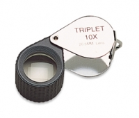 Diamond Loupe, 10X Triplet, Black and Chrome, 20.5 Millimeters||ELP-759.13