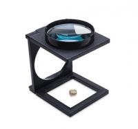Folding Desktop Magnifier, 3X||ELP-800.03