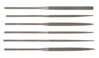 Deluxe European Wax Needle Files, Set of 6||FIL-905.00