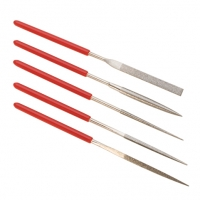 Diamond Coated Needle Files, Set of 5||FIL-965.00