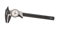 Nylon Dial Caliper, Millimeters, 8-7/8 Inches||GAU-166.00
