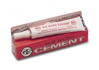 G-S Hypo Jeweler's Cement, 1/3 ounce tube||GLU-105.00