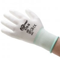 Polyurethane Palm Coated Gloves, Small, 12 Pair||GLV-170.10