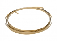 32 Gauge Red Brass Bezel Wire 10 FT||H30-3A