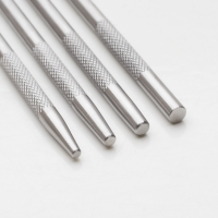 PUNCH SET 2 - ROUND FLAT END, 4 PC||HAM-101.20