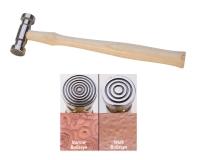 Texturing Hammer - Bullseye||HAM-460.04