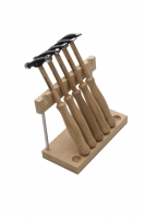 Wubbers Artisan's Mark 5 Pc Hammer Set W/Stand||HAM-6200