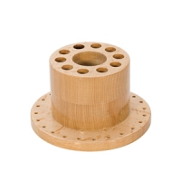 Round Wood Tool Stand||HOL-360.00