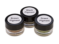 COLORED PIGMENT REFILL KIT- BLK, BROWN, GREEN||KIT-360.03