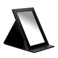 FOLDING MIRROR, BLACK||MIR-300.05