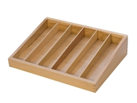 Wooden File Organizer, 6 Compartments||PKG-106.00