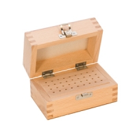 Wood Storage Box, 36 Holes, 4-7/8 by 3 Inches||PKG-136.00