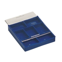 Compartment Tray with Sliding Lid, 7 Compartments||PKG-305.00