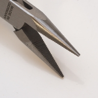 Relentless Precision Pliers, Chain Nose, Serrated, 4-1/2 Inches||PLR-100.02