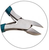 Teal Slimline Cutter, Sidecutter, Semi-Flush, 4-1/2 Inch||PLR-255.15