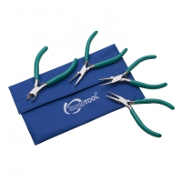 Teal Slimline Pliers and Cutter, 4 Piece Set||PLR-255.98