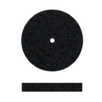 Unmounted Silicone Polisher, Square Edge, Black, Medium Grit, 100 Pack||POL-301.20