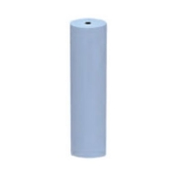 Unmounted Silicone Polisher, Cylinder, Light Blue, Fine Grit, 12 Pack||POL-320.30