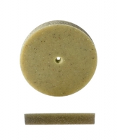 Pumice Wheel, Square Edge, Medium Grit, 7/8 Inch, Pack of 12||POL-350.20