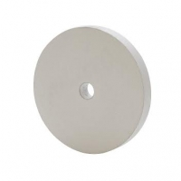 Large Silicone Polishing Wheels, White, Coarse Grit, 4 Inches by 1/2 Inch||POL-490.50