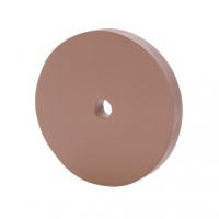 Large Silicone Polishing Wheels, Pink, Extra Fine Grit, 4 Inches by 1/2 Inch||POL-490.80
