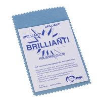 "Euro Tool ""Brilliant"" Polishing Cloths, Small, Blue