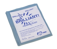 "Euro Tool ""Brilliant"" Polishing Cloths, Large, Blue