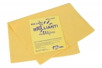 "Euro Tool ""Brilliant"" Polishing Cloths, Medium, Yellow