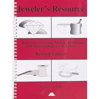 Jeweler's Resource: A Reference of Gems, Metals, Formulas and Terminology for Jewelers, Revised Edition, Spiral Bound, By Bruce G. Knuth||PUB-120.00