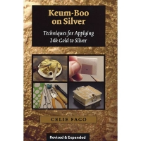 Keum-Boo on Silver Techniques for Applying 24k Gold to Silver, By Celie Fago||PUB-151.00
