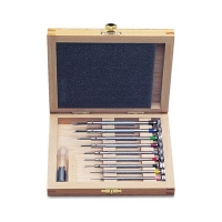Set-Screw Screwdriver Set in Wooden Box, 9 Piece||SCR-989.00