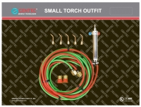 Gentec Small Torch Basic Kit, For Oxy/Propane||SOL-205.00