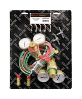 Gentec Small Torch Kits with Regulators, Oxy/Propane||SOL-206.00