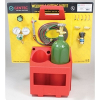 Gentec Complete Small Torch Caddy Kit, Oxy/Propane||SOL-207.00