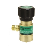 Gentec Small Torch Regulator, Oxygen Regulator for Disposable Tanks||SOL-208.01