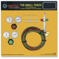 Gentec Small Torch Kits with Regulators, Oxy/Acetylene||SOL-226.00